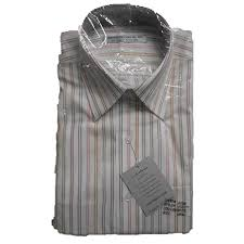 men u0027s wrinkle free dress shirt 711 neck 17 sleeve 34 35 pk or