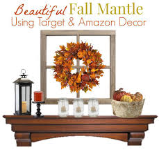 thanksgiving decor mantle