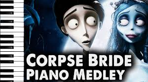 zombie bride spirit halloween corpse bride piano duet victor u0027s piano solo medley youtube
