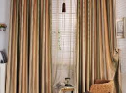 Drape Length Curtains Blue And Green Striped Curtains Inspiration Green And