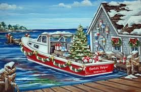nautical christmas cards east coast prints boston and new christmas cards