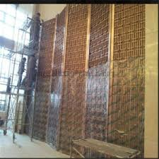 china five stars hotel decorative partition stainless steel room