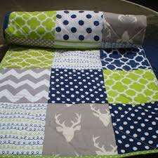 Baby Deer Crib Bedding Best Baby Boy Crib Bedding Navy Products On Wanelo