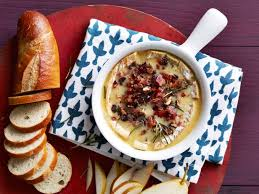 baked brie with cranberry pecan bacon crumble recipe food