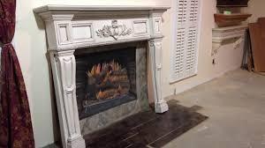 the boston mantel antique glaze finish antique fireplace