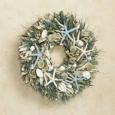 seashell wreath st lucia coastal starfish seashell wreath