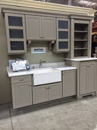 Floor Kitchen Cabinets by Weathered Pieces Kitchen Remodel With Martha Stewart Cabinets