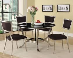 Best Round Glass Tables Images On Pinterest Glass Tables - Round glass kitchen table sets