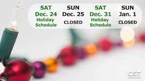 And New Year Holidays In The Sun 2016 Operating Schedule Chatham Area Transit Cat