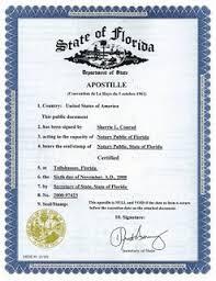 verification of public documents by apostille