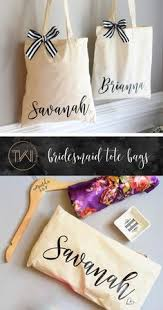 personalized bags for bridesmaids personalized gift bag gold white lettered customized