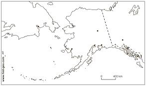 usa map with alaska and hawaii blank outline map of alaska usa and its cities