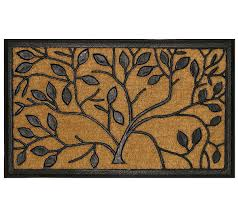 Don Aslett Doormat Geo Crafts Tuffcor Tree Of Life Door Mat Page 1 U2014 Qvc Com