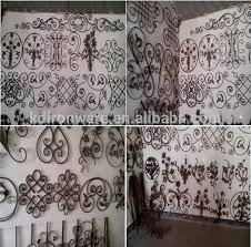 new design ornamental wrought iron fence panels iron gate panels