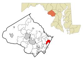 Md Usa Map by Fairland Maryland Wikipedia