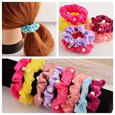 hair rubber bands 2018 candy color elastic bands rubber band for women hairstyles