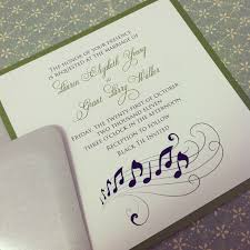 10 stirring music themed wedding invitations which popular in this