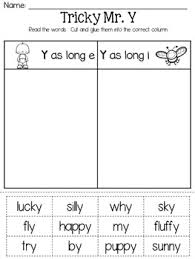 mr y the tricky guy vowel sounds of y by a sunny day in first