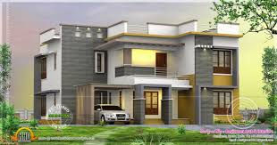 Rendering Floor Plans by Modern Home Design Plan 2500 Sq Ft Kerala Home Design And Floor