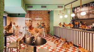 Low Cost Restaurant Interior Design Abat Café By Lagranja Design A Contemporary Modern Fresh Yet