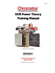 scr power theory training manual tm pk501 scr power rectifier