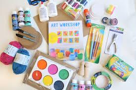 diy art kit for kids mama papa bubba