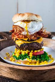 cuisine high epic burger with egg s cuisine