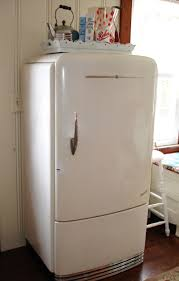 obviously our fridge is not this charming and rather larger but
