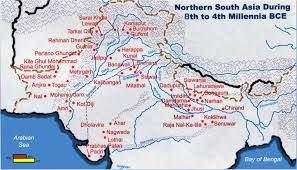 Map Of Indus River Home Ancient Indian Wisdom