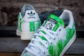 billionaire boys club x adidas originals stan smith palm tree