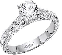 carved engagement rings flyerfit engraved solitaire engagement ring 5137esol aeng