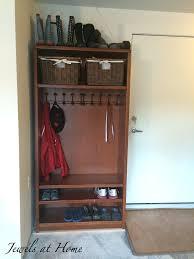 Mudroom Lockers Ikea Mudroom Locker Diy Bookcase Makeover Jewels At Home
