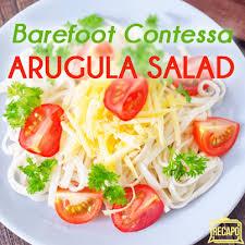 barefoot contessa arugula salad chew barefoot contessa ina garten summer garden pasta recipe