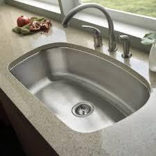Undermount Kitchen Sink - beautiful stainless steel undermount sink single bowl 32 stainless