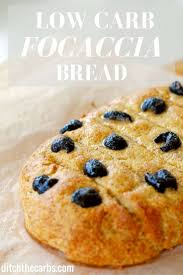 Panera Bread Pumpkin Muffin Carbs by Low Carb Focaccia Bread With Rosemary And Olives Wheat And
