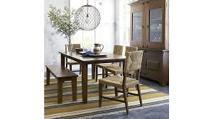 Crate And Barrel Dining Room Sets Basque Honey 82 Dining Table In Dining Tables Reviews Crate