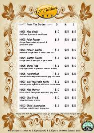 indian cuisine menu indian food menu d cuisine