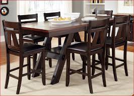 tall dining tables and chairs elegant dining room counter height