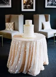 sequin tablecloth rental ivory sequin table linen