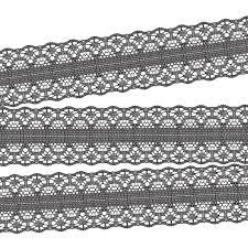 black lace ribbon black decorative lace ribbon 10 yards magnolia collection