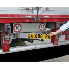porta targa auto portatarga int auto targa ed accessori speedup