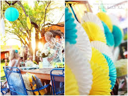 Outdoor Easter Party Decorations charming yellow u0026 blue easter brunch for hgtv easter party and