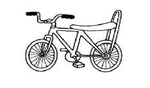 bicycle coloring pages free printable preschool preschool crafts