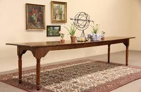 sold farmhouse antique 1890 u0027s harvest dining table 11 u0027 6