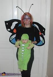 Butterfly Baby Halloween Costume Butterfly Catcher Butterfly Caterpillar Family Costume