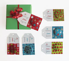 how to diy holiday gift tags with buttons busy beaver blog