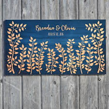 wedding signing board wedding signature board wedding guest book alternative