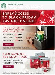 starbucks black friday 2017 sale hours cyber week 2017