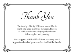 thank you cards for funeral funeral thank you card ideas search funeral