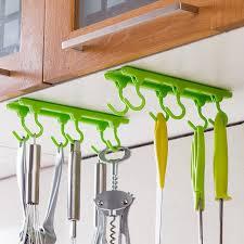Kitchen Cabinet Rails Aliexpress Com Buy 4 Color Kitchen Cabinet Wall Cabinet Hook